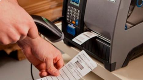 Barcodes en labels printen