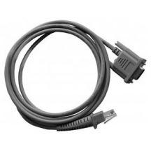 Datalogic RS-232 kabel (9P, female), 1,8 meter, recht, voedingsconnector, apart bestellen: voeding en netsnoer