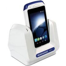 Datalogic Oplaad/Communicatie cradle, Lockable, 1-slot, Lichtgrijs, Voor Joya Touch / Joya Touch A6, Apart bestellen: Voeding