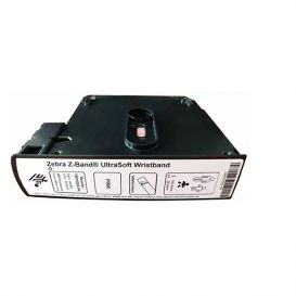 Zebra Z-Band UltraSoft, roze, 25x152 mm, kind, permanente belijming,  300 bandjes per cartridge -> 6 cartridges