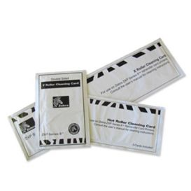 Zebra Cleaning kit, 12 X & Y Roller Cleaning Cards en 3 Hot Roller Cleaning Cards, voor de ZXP Series 8, ZXP Series 9