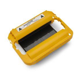 Zebra cartridge 110 mm x 74 m, Wax, Voor Zebra ZD420c (cartridge), Zwart -> 6 stuks