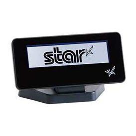 Star SCD222U klantendisplay, 2x 20 tekens, USB 2.0, Zwart, geschikt voor de mPOP, MC-Print3