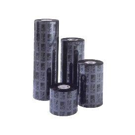 Zebra lint 57 mm x 74 m, Wax 2300, Voor Zebra TLP 2824/Z, TLP 2722, Kern 12.7 mm, Zwart -> 12 rollen
