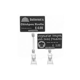 Evolis price tag clamps, 4 cm