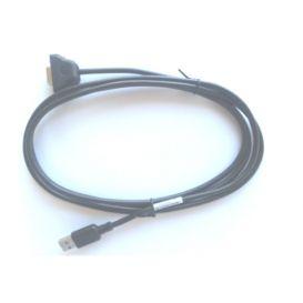 Zebra USB kabel, 9-Pin, female, Recht, Geschikt voor DS457