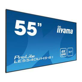 iiyama ProLite LE5540UHS-B1, 138.6cm (54.6''), 4K, black