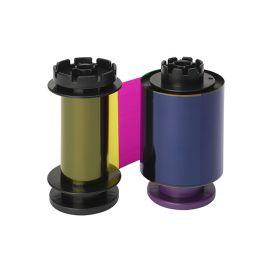 Evolis kleurenlint (YMCKH RT), voor non PVC cards, tot 400 afdrukken, geschikt voor de Avansia