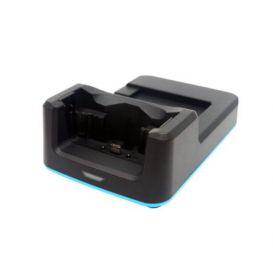 Unitech 1-slot USB cradle, voor 1x PDA en 1x batterij, incl. voeding, voor de EA630