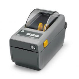 Zebra ZD410, USB, 203 dpi, DT, MS, RTC, EPLII, ZPLII, donkergrijs, incl. USB kabel en voeding