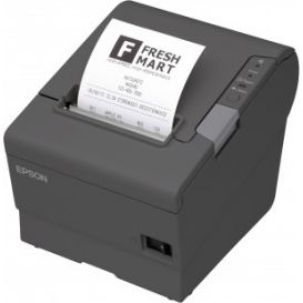 Epson TM-T88V, USB, Ethernet, licht grijs, incl. EU voeding