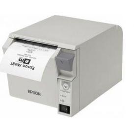 Epson TM-T70II, USB, RS232, lichtgrijs, incl. EU voeding