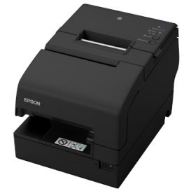 Epson TM-H6000V, USB, RS232, Ethernet, cutter, OPOS, ePOS, zwart