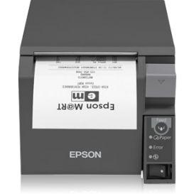 Epson TM-T70II, USB, WLAN, donkergrijs, incl. EU voeding