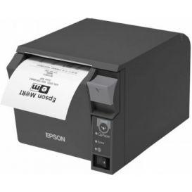 2e Kans: Epson TM-T70II, USB, RS232, donkergrijs, incl. EU voeding