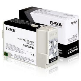 Epson cartridge, Zwart, geschikt voor de C3400