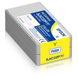 Epson cartridge, Geel, geschikt voor de C3500, 32,5 ml