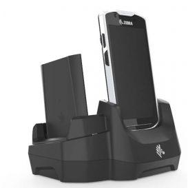Zebra Single slot cradle, 1x PDA, 1x batterij,  USB / Ethernet, voor TC51, TC52, TC56, TC57, incl. voeding en DC kabel, excl. netsnoer