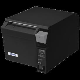 2e Kans: Epson TM-T70II, USB, RS232, zwart, incl. EU voeding