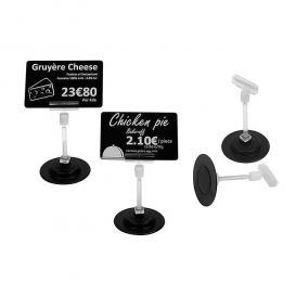 Evolis magnetic price tag holder set, 8 cm