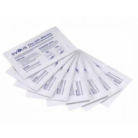 Evolis Cleaning kit, 5 adhesive cards, geschikt voor de Avansia