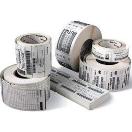 Honeywell labels 76x127 mm, Duratherm III, kern 19 mm, papier, DT, 100 labels op rol -> per 48 rollen
