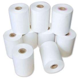 Bonrollen, 1 ply (enkel), 57x12x57mm (30 meter), normaal papier (niet thermisch) -> per 100 rollen