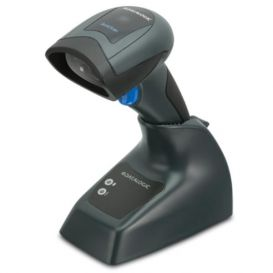 Datalogic QuickScan I QBT2131, Bluetooth, 1D, multi-IF, Incl. Basisstation en kabel (USB), Zwart