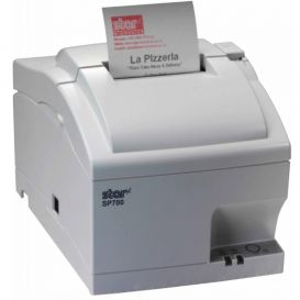 Star SP742-M, Ethernet, cutter, wit, incl. voeding