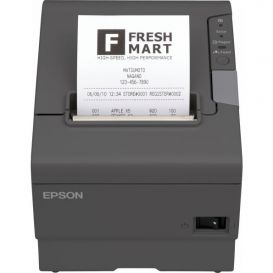 Epson TM-T88V, USB, Parallel, donkergrijs, incl. EU voeding