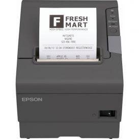 Epson TM-T88V, USB, WLAN, donkergrijs, incl. EU voeding