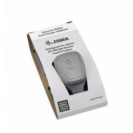 2e Kans: 3x Zebra lint, zwart (monochroom), food-safe, geschikt voor de ZC100 en ZC300, 1500 afdrukken