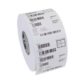Zebra Tags 86x54 mm, Z-Perform 1000T, Kern 76 mm, 190 Tag, TT, Papier, Met perf., 2475 Per Rol -> Per 4 Rollen