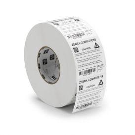 Zebra Labels 76x51 mm, Z-Ultimate 3000T, Kern 25 mm, TT, Polyester, Wit, 1370 Per Rol -> Per 12 Rollen