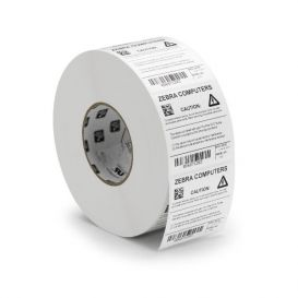 Zebra labels 102x152 mm, Z-Perform 1000D, Kern 76mm, DT, Papier, Met perf., 950 per rol -> Per 4 rollen