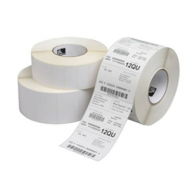 Honeywell labels 102x102 mm, Duratran I, Kern 40 mm, Diameter 110 mm, TT, Papier, 480 per rol -> 12 rollen