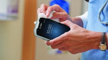Reinig uw handen én uw apparatuur
